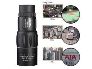 New 16 x 52 Dual Focus Monocular Telescope Zoom Optic Lens Binoculars Spotting scope