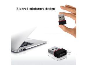 150Mbps USB Wireless WiFi Network Receiver Card Adapter Transmitter For Desktop