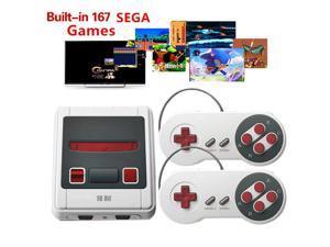 SEGA 16 bit Mini TV Handheld Retro Classic Console Video Game Console With 167 Classic SEGA Games PAL/NTSC