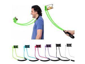 Universal Lazy Hanging Neck Phone Stands Necklace Support Bracket Holder Mounts