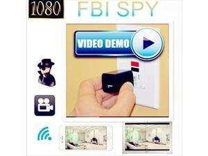 HD 1080P Hidden 8GB NIGHT VISION SPY Camera USB Adapter Wall Charger Plug Nanny Camcorder