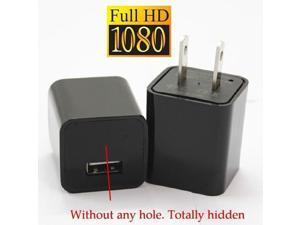 8GB Mini AC Adapter Camera 1080P US Plug USB Pen Charger Hidden Spy Video Camera Loop Record Nanny Camcorder