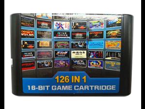 Popular 126 in 1 for Sega Megadrive Genesis Game card with Super Marioed Batman & Robin