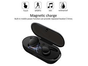 Professional Waterproof Touch True Sport Wireless Earbuds TWS Mini Bluetooth