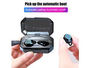 Touch Control TWS Bluetooth 5.0 Earphone 3000mAh Charging Case HIFI True Wireless Earbuds IPX6 Waterproof Binaural Calling