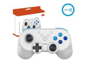 Switch Wireless Mini Pro Controller +NFC with Amiibo Function & Motion Controls Dual Vibration Super Smash Bros Ultimate Control