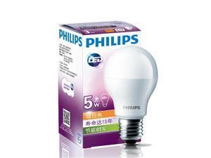 Philips LED 220 Volt - 240 Volt 5 Watt Led Light Bulb E27 Screw Fitting Warm White Lamp 15 Year Lifetime Au Eu Uk Asia Voltage - 220V To 240V