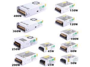 120 Watt LED Power Supply AC 220 Volt - 240 Volt To DC 12 Volt Switcher Transformer AC 220V - 240V To DC 12 Volts