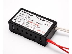 120 Watt Halogen Bulb Spot Lamp Power Supply AC 100 Volt - 120 Volt To AC 12 Volt Transformer