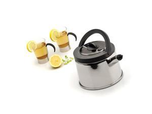 BergHOFF 1100135 Cubo Whistling Tea Kettle