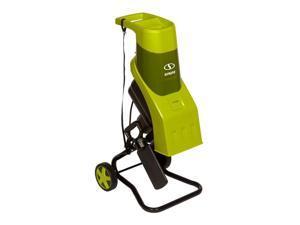Sun Joe CJ602E Electric Wood Chipper | 17:1 Reduction | 15 Amp | Green