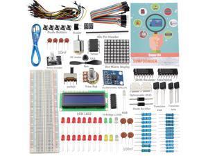 SunFounder Project Super Starter Kit for Arduino UNO R3 Mega2560 Mega328 Nano-OEM