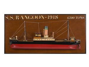 Authentic Models Tramp Steamer 'rangoon'