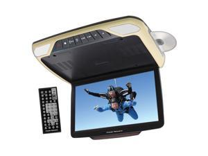 """Power Acoustik PMD_143H 14.3"""" Ceiling-Mount DVD Entertainment System with 3 Interchangeable Color Skins & Mobile Link"""