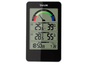 Taylor Digital Hygrometer, Indoor, 14 to 122 F  Includes Built-In Stand 1732