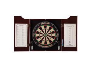 GLD Viper Hudson All-In-One Dart Board & Cabinet w/ Dry-Erase Board   40-0219