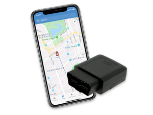 LightningGPS 4G OBD-II Plug-in Real-Time GPS Vehicle Tracker for Fleet, Vehicles, Children, Teens, Elderly, Valuables, Cars