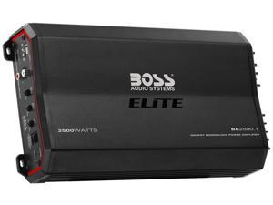 Boss BE2500.1 Elite 2500W Monoblock, Class A/B Amplifier