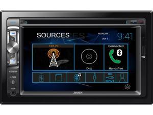 "Jensen VX2529 DVD AV Receiver with USB, MicroSD, 6.2"" touchscreen and bluetooth"