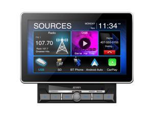 """Jensen CAR1000 10.1"""" Touch Mechless CarPlay Android Car Media Receiver Bluetooth"""