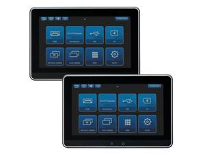 """Audiovox AVXSB10MM Dual 10.1"""" Touchscreen Smart TV Digital Only Monitor Systems (No DVD)"""