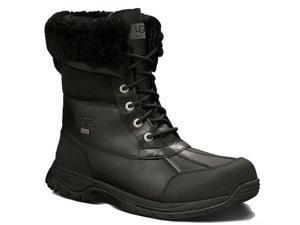 UGG Australia Men's Butte Black Waterproof Boots 8.5 M US