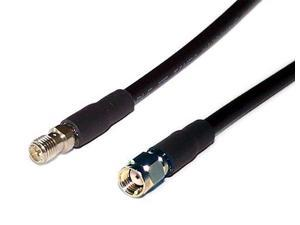 Times Microwave LMR-240 Antenna Extension Cable -ASUS D-Link Netgear WiFi Routers- RP-SMA Male/Female Connectors (6 FT)