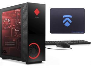 2021 Latest HP OMEN 30L NVIDIA RTX 3090 Gaming Desktop PC (RGB Liquid Cooled Intel i9-10850K, Z490 Mobo, 750 Watt Platinum PSU, Windows 10 Pro, 1TB NVMe SSD + 2TB HDD, 32GB HyperX RGB RAM)