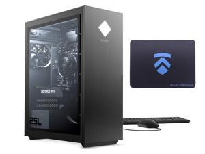 2021 Latest ELUK OMEN 25L Gaming PC (AMD Ryzen 7 3700X Processor, NVIDIA RTX 3070 Graphics Card, Windows 10 Home, Glass Window, 1TB PCIe NVMe SSD + 32GB HyperX 3200MHz DDR4 RAM) VR Ready Desktop