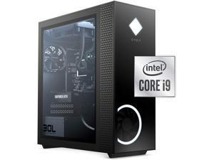 HP OMEN 30L Gaming Desktop PC - NVIDIA GeForce RTX 3090 Graphics Card, 10th Generation Intel Core i9-10850K Liquid Cooled Processor, 32GB HyperX RGB RAM, 1TB PCIe SSD, Windows 10 Home, Tempered Glass