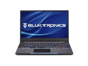 "Eluktronics MECH-15 G2Rx Slim & Light NVIDIA GeForce RTX 2060 Gaming Laptop with Mechanical RGB Keyboard - Intel i7-9750H CPU 6GB GDDR6 VR Ready GPU 15.6"" 144Hz Full HD IPS 512GB NVMe SSD + 16GB RAM"