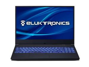 "Eluktronics MB-15 Thin & Light Gaming Laptop with 144Hz Refresh Rate & Glass Touchpad - Intel i7-8750H CPU 4GB GDDR5 NVIDIA GeForce 1050 Ti GPU 15.6"" Full HD IPS 128GB PCIe SSD 8GB RAM"