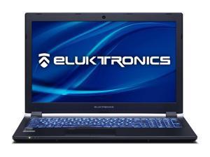 "Eluktronics P955ER Premium Thin & Light VR Ready Gaming Laptop - Intel i7-8750H Six Core CPU W10 Home 8GB GDDR5 NVIDIA GeForce GTX 1070 Max-Q 15.6"" Full HD 144Hz 256GB PCIe SSD + 8GB DDR4 RAM"