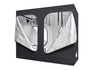 LAGarden™ 96 x 48 x 78-3/4 In. Indoor Grow Tent Reflective Mylar Hydroponics Plant Room