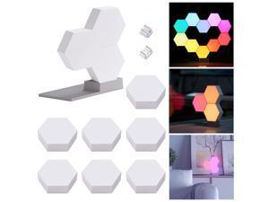 LifeSmart WiFi Smart LED Light Kit Christmas Lights Splicing 10 Block Base 16 Million Color Work with Alexa Google