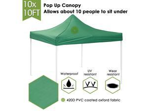 10x10Ft Easy Pop Up Canopy Party Wedding Tent Folding Gazebo Commercial Instant Shelter