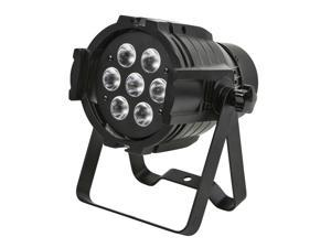 Monoprice PAR-575 Stage Light (RGBW)   Bright,  8 watt, x 7 LED, aluminum shell, built-in programs for dimming and strobe effect - Stage Right Series