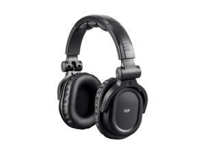 Monoprice Premium Hi-Fi DJ Style Over-the-Ear Pro Bluetooth Headphones With Mic And Qualcomm aptX Support (8323 With Bluetooth)