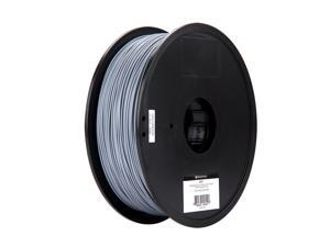 Monoprice MP Select PLA Plus+ Premium 3D Filament 1.75mm 1kg/spool Gray