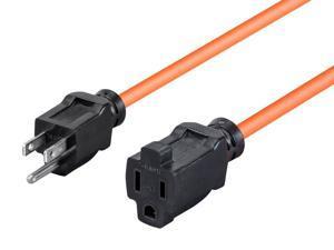 Monoprice 10ft 16/3 SJTW Orange Outdoor Ext. Cord