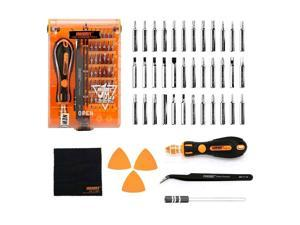 39 in 1 Precision Screwdriver Set with Tweezers, 36 Magnetic bits repair tools small hand tools for iphone and toys