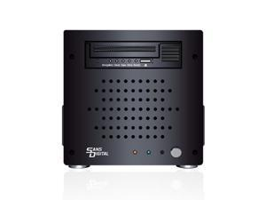 """Mini-ITX 3 Bay Enclosure with built in 5.25"""" Drive Bay Opening"""