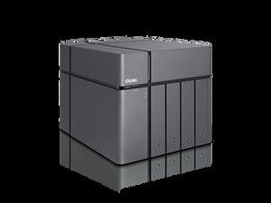 XCubeNAS XN5004T Tower 4Bay +2 Bay with Intel Celeron 2.9 GHz Dual-Core CPU, 8GB DDR4 RAM, USB LCD