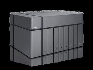 XCubeNAS XN5008T, Tower 8 +1 Bay with Intel Celeron 2.9 GHz Dual-Core CPU, 8GB DDR4 RAM (Max 32GB).