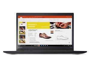 "Lenovo ThinkPad T470s Windows 7 Pro Laptop - Intel Core i5-6300U, 12GB RAM, 512GB SSD, 14"" IPS FHD (1920x1080) Matte Display, Fingerprint Reader, Black Color"