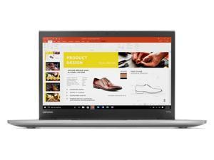 "Lenovo ThinkPad T470s Windows 7 Pro LTE 4G Laptop - Intel Core i7-7600U, 20GB RAM, 512GB SSD, 14"" IPS WQHD (2560x1440) Matte Display, Fingerprint Reader, Smart Card Reader, Silver Color"