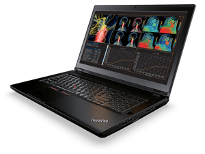 "Lenovo ThinkPad P71 Workstation Laptop - Windows 10 Pro - Intel i7-7700HQ, 64GB RAM, 1TB SSD, 17.3"" FHD IPS 1920x1080 Display, NVIDIA Quadro M620 2GB GPU"
