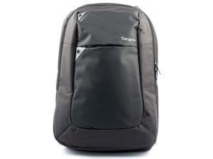 """Targus Black/Gray Intellect 15.6"""" Laptop Backpack - Black/Grey Model TBB565GL"""