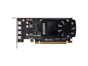 PNY Quadro P1000 VCQP1000V2-PB 4GB 128-bit GDDR5 PCI Express 3.0 x16 Low Profile Video Cards - Workstation