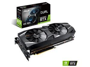 ASUS DUAL-RTX2070S-O8G-EVO - Overclocked Edition - graphics card - GF RTX 2070 SUPER - 8 GB GDDR6 - PCIe 3.0 x16 - HDMI,